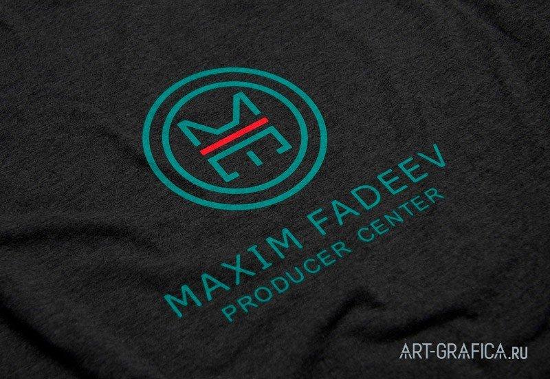 логотип на ткани максим фадеев