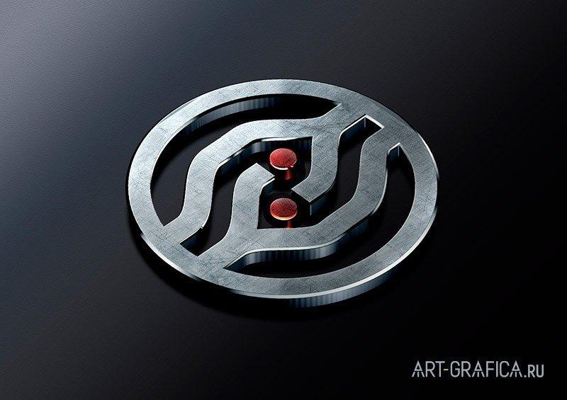 логотип рво на темном фоне