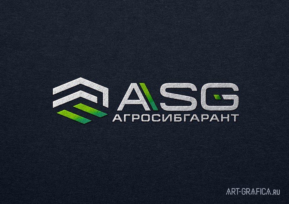 логотип АСГ на темном фоне